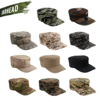 Hot Sale Unisex Camouflage Military Octagon Hat Army Ranger RipStop Soldier Cap Combat Hats For Outdoor