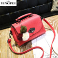 New arrival leather handbags fashion shoulder bag PU leather cross body brand women messenger Tassel bags High Quality YINGPEI