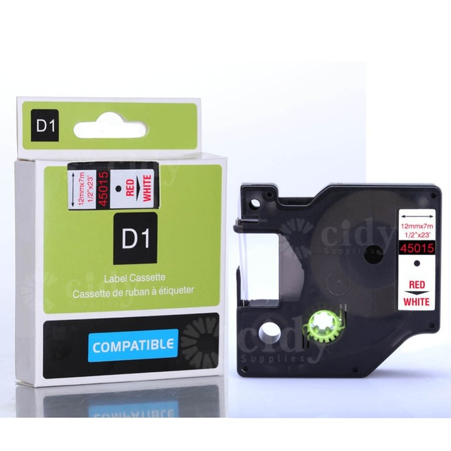Compatible Dymo Label Maker 1 2x23 45015 For Printer Labelling