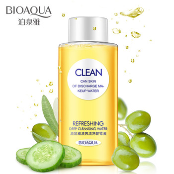 BIOAQUA Makeup Remover Face Cleansing Oil Cleansing Water Deep Cleansing Makeup Cosmetics Refreshing Replenishment 150ml cosmetics