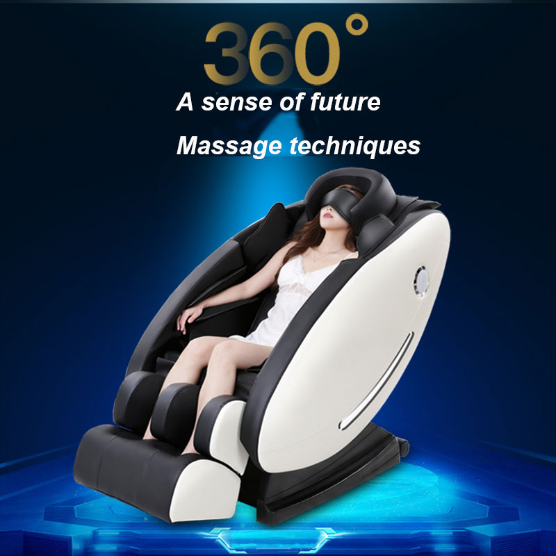 Intelligent Test Massage Chair SL Track Massage Chair Multi-Functional Space Capsule 8D Dynamic Manipulator