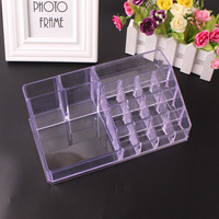 Cosmetic Organizer Makeup Storage Rack Lipstick Stand Case Jewelry Cosmetic Display Rack Acrylic Makeup Organizer Tool