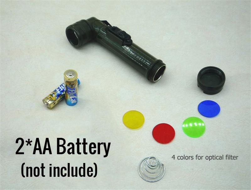 military flashlight1801