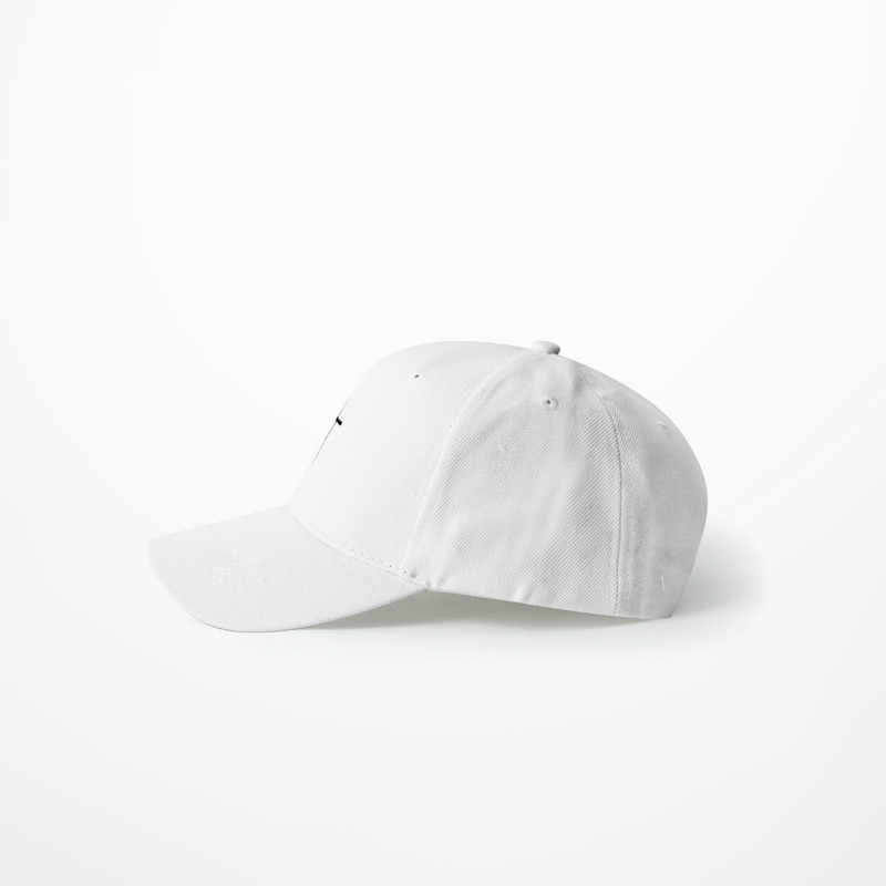 f7acb95ef Simple Cross Embroidery Baseball Cap 2019 Summer Fashion Dad Caps Bent  Visor Hip Hop High Street Black White Hat For Man Women