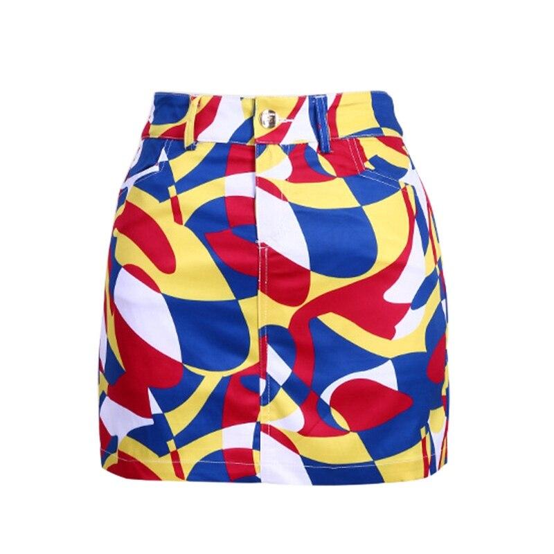 PGM Golf Womens Short Skirt Printing Golf Apparel Skirt for Women Breathable Comfortable Sports Skirt S-2XL