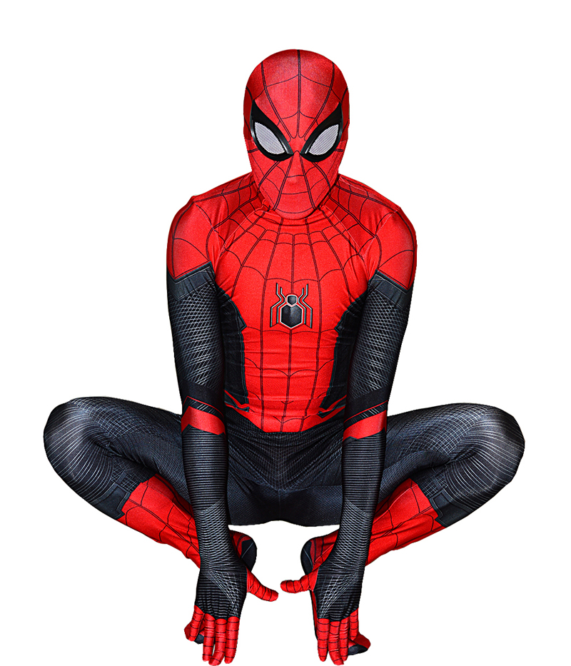 Far From SpiderMan Costume Halloween Cosplay Superhero Jumpsuit Spiderman Fancy Spiderman Costume Bodysuit