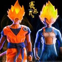 1/6 весы коллекционный полный набор японского аниме Dragon Ball Saiyan воин Сон Гоку/Вегета голова комплект одежды для 12 ''фигурка тела
