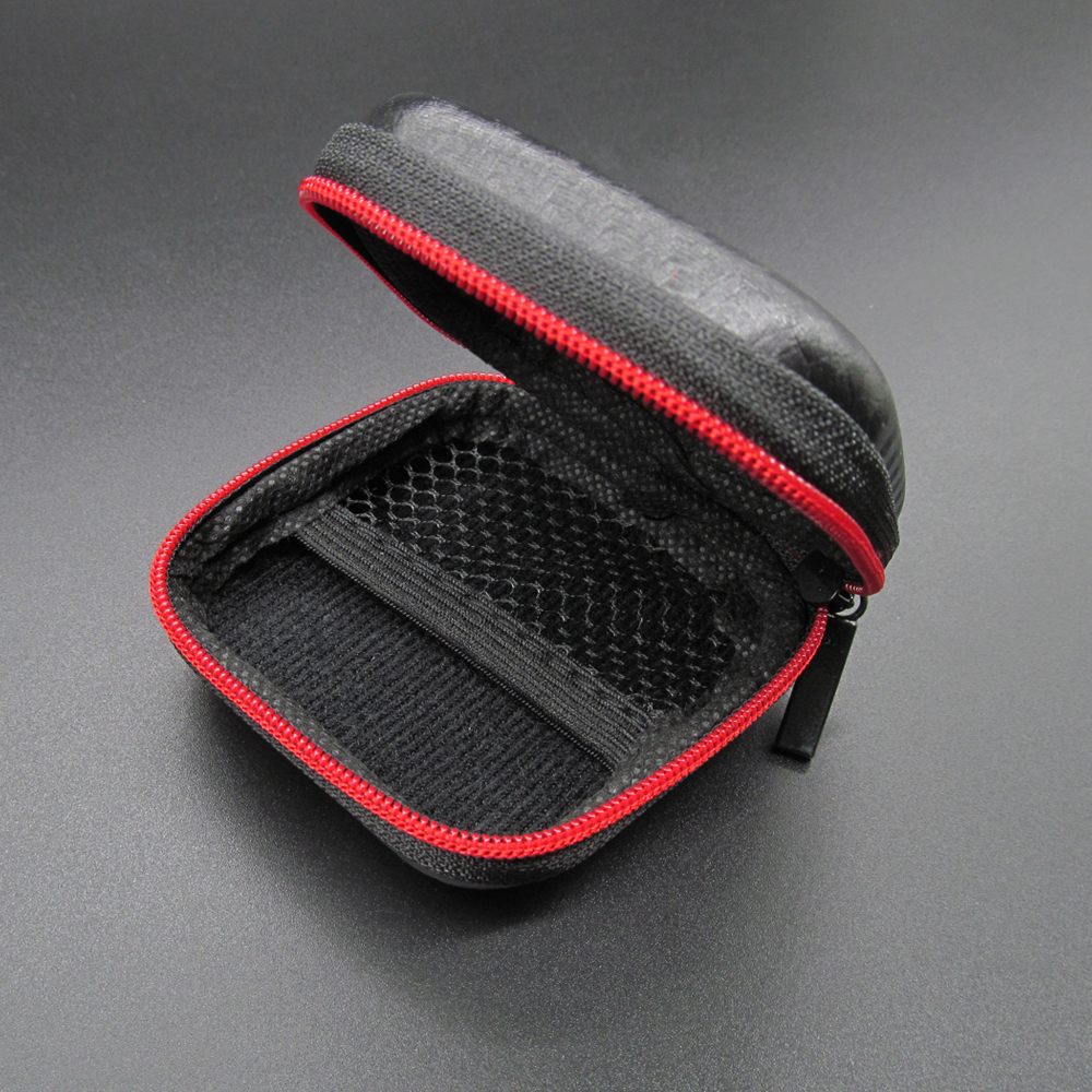 Image 5 - Portable Mini Earphone Case Box Hard EVA Headphone Storage Bag For Airpods Earpod Earbud Wireless Bluetooth Earphone Accessories-in Earphone Accessories from Consumer Electronics