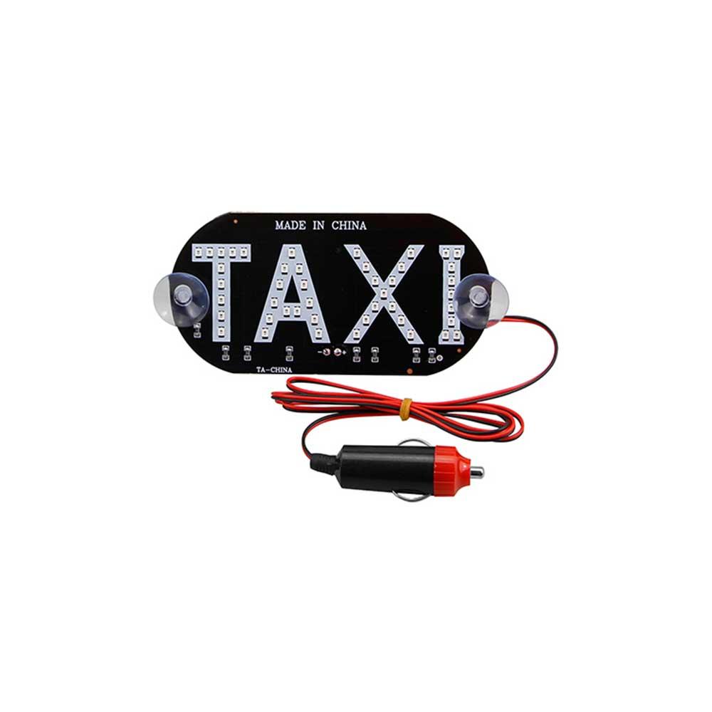 4 färger Taxi Led Bil Vindruta Hyttindikator Lampskylt Blå Vit Röd - Bilbelysning - Foto 6