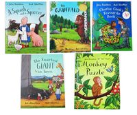 5PCS English Children S Book Masters Of The Gruffalo Julia Donaldson Works Series Of Picture Books