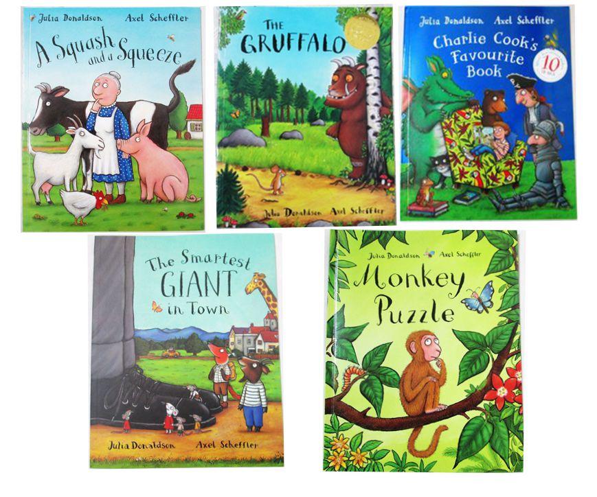 5PCS English Children's Book Masters Of the Gruffalo Julia ...