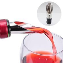 Вино Pourers Нержавеющая Сталь Вино Воронка Бутылка Pourer сброс вино пробки бар инструменты Rolhas dos vinhos