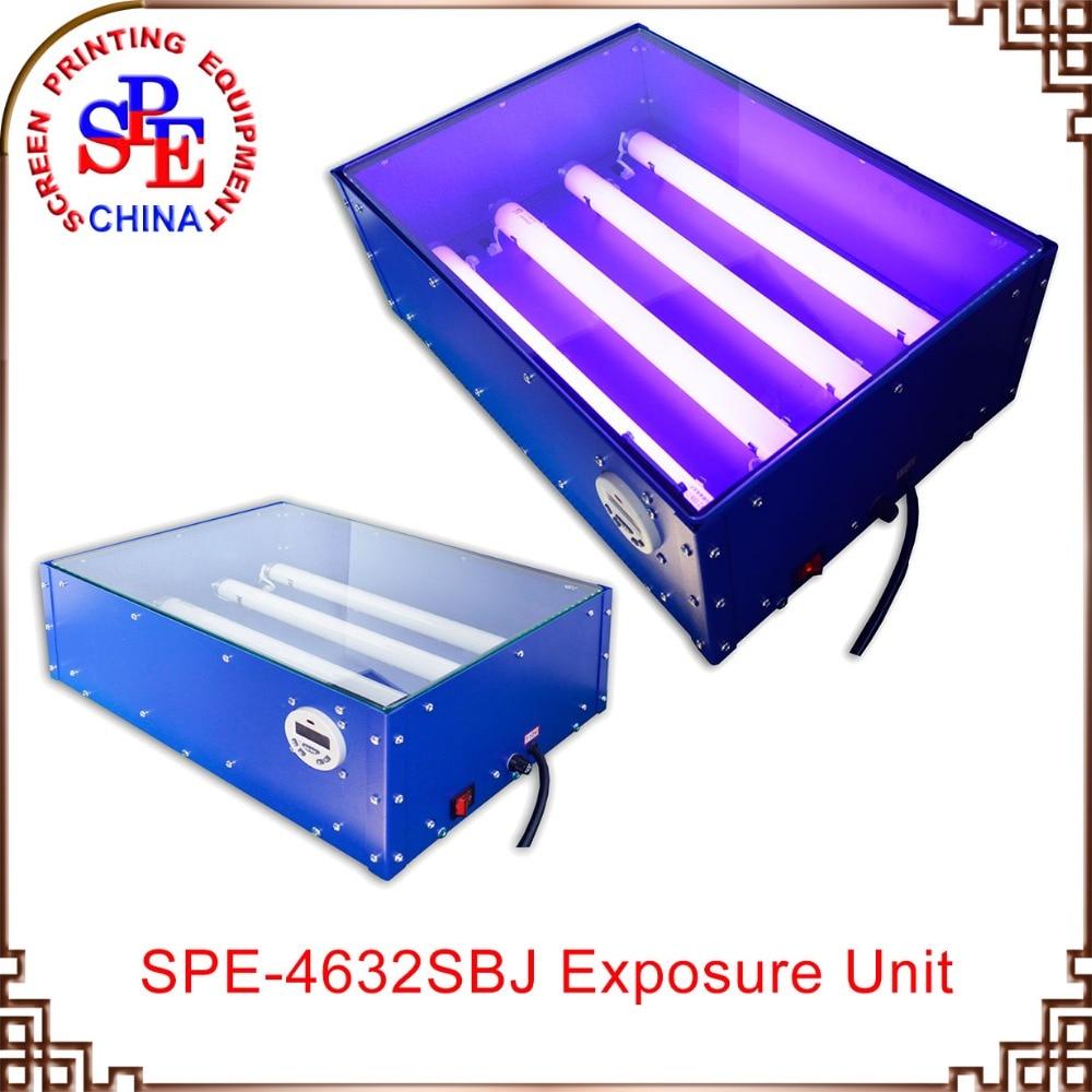 SPE-SBJ4632 Precise UV Exposure Unit exposuring expose machine spe zksbj110 6070 vacuum uv exposure unit screen printing mahcine