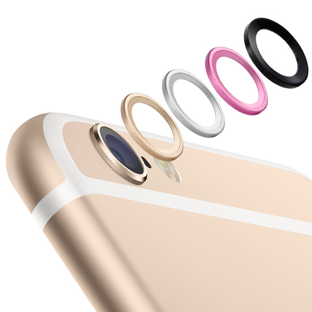 best service 9393b 721ee US $0.9 |Rear Camera Lens Protective Ring Cover Protector Protection 5.5in  For iPhone 6 Plus 6s Plus Metal Case Luxury Mobile Accessories-in Fitted ...
