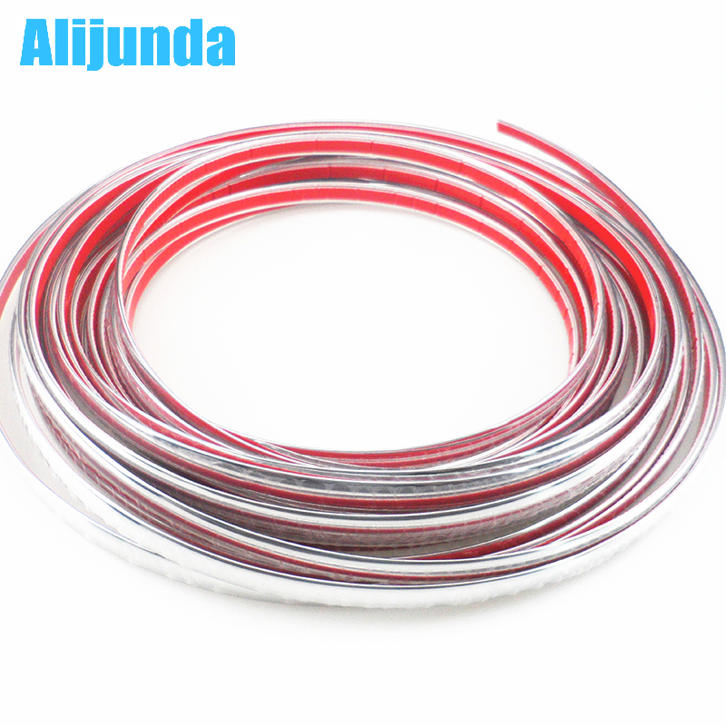 Exterior Accessories Alijunda 10mmx15m Diy Car Sticker Chrome Strip For Chevrolet Cruze Trax Aveo Lova Sail Epica Captiva Malibu Volt Camaro To Win A High Admiration And Is Widely Trusted At Home And Abroad.