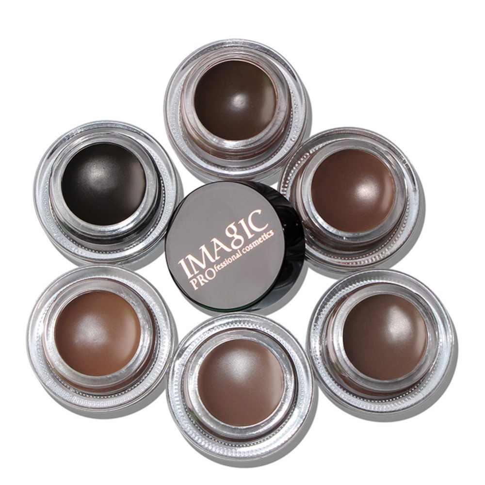 IMAGIC 6 цветов гель для бровей прочная помада-гель для бровей водонепроницаемый Maquiagem Макияж усилитель бровей с кисточкой для бровей #260533