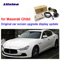 LiisLee Reversing the original car screen upgrade Interface Kit for Maserati Ghibli RMC NavPlus MMI system