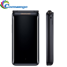 Original Samsung Galaxy Folder 2 ( G1650 ) 2GB RAM 16GB ROM LTE Mobile Phone Dual SIM Quad Core 8.0MP 3.8″ Flip Phone Folder