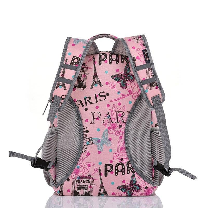 Letrend estudiante viaje Duffle rollo de equipaje Set lindo dibujos animados llevar en carro niños cabina capacidad mochila escuela - 4