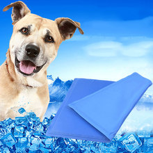Summer Keep Dog Cooling Mat Pet Ice Pad Teddy Mattress Small Large Cat Cushion Cool Gel For Dogs