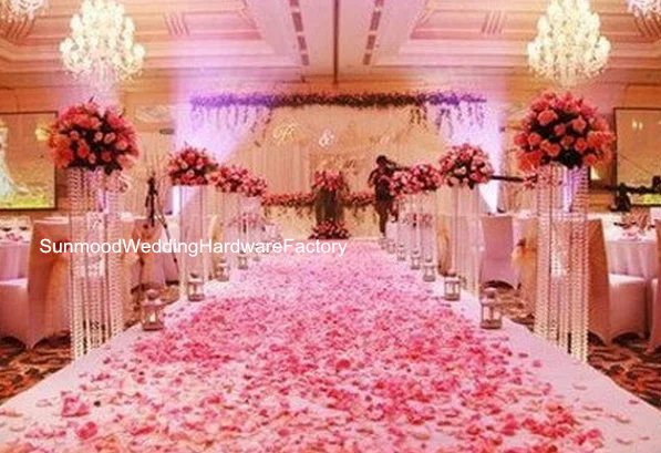 Hot sale fashionable clear acrylic pillars for wedding walkway hot sale fashionable clear acrylic pillars for wedding walkway decoration junglespirit Choice Image