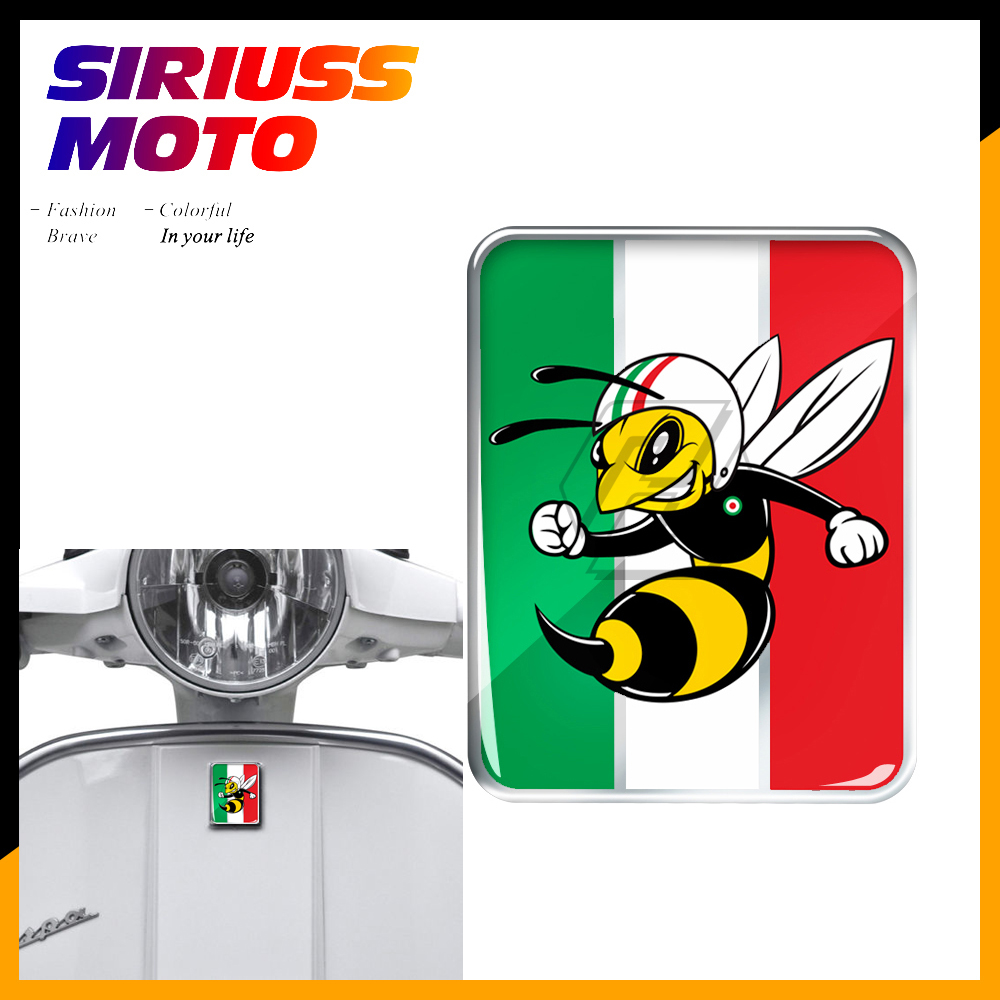 3D Motorcycle Decal Sticker Case For PIAGGIO VESPA GTS GTV LX LXV 125 250 300 Ie Super