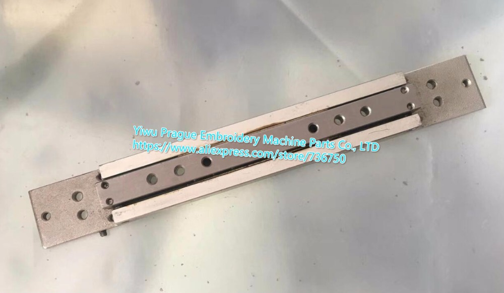 Genuine SWF Sunstar embroidery machine spare parts Guide Rail 9 Needles Length 22cm offered by Yiwu
