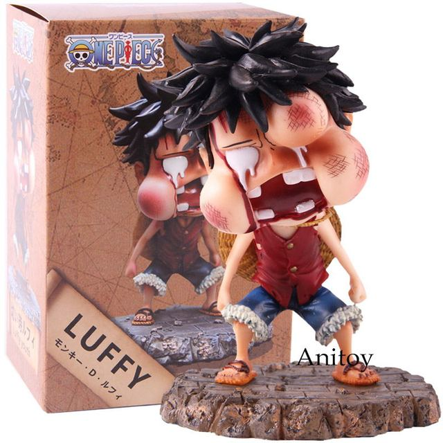 Us 5 69 20 Off One Piece Monkey D Luffy Happy And Injured Ver Pvc Anime One Piece Luffy Figure Action Collection Model Toys In Action Toy Figures