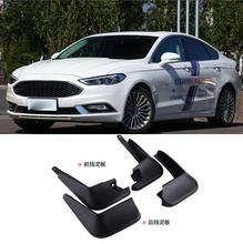 Free shipping  2004-2006 For  ford Mondeo Sport  Soft plastic Mud Flaps Splash Guard Fender free shipping ccfl ring for mondeo 02 05 full circle 95mm