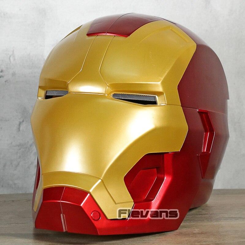 Marvel légendes Avengers série Iron Man casque électronique réplique PVC Figure modèle à collectionner jouet avec lumière LED