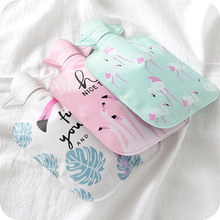 House Items Cartoon Hand Po Warm Water Bottle Cute Mini Hot Bottles Small Portable Warmer Injection Storage Bag