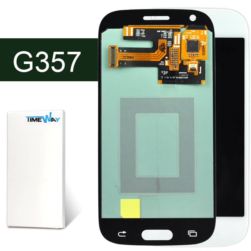 ФОТО DHL 10pcs Original New LCD With Touch Screen Digitizer Assembly For Samsung  Ace Style LTE G357 G357FZ