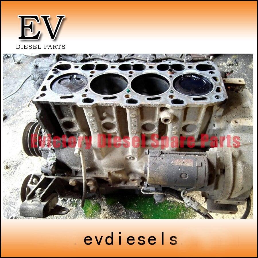 4LE1 cilinder blok korte voor Hiatch Graafmachine EX55