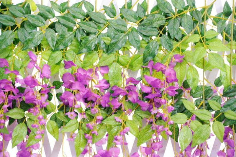 Hochzeitsfest bevorzugt künstliche Blumen 1.1M Silk Blumen-elegantes - Partyartikel und Dekoration - Foto 3