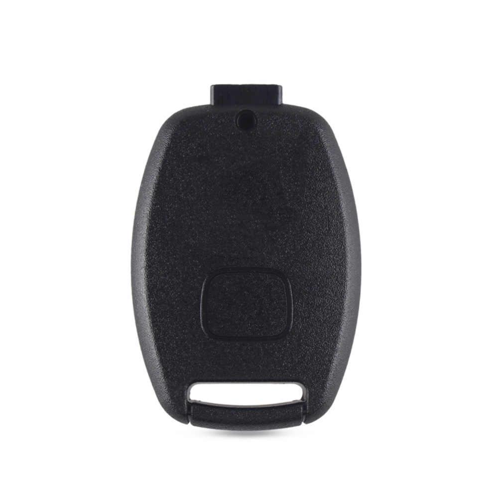 KEYYOU ключи чехла дистанционного Fob чехол для хонда аккорд CR-V пилотный гражданский 2003 2007 2008 2009 2010 2011 2012 2013 с логотипом