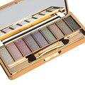 GRACEFUL Waterproof Long-lasting 9 Colors Shimmer Eyeshadow Eye Shadow Palette & Makeup Cosmetic Brush Set  AUG5