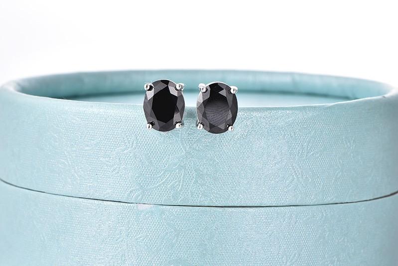 black stud earrings ,hot sale new earrings for women black NE79200F (10)