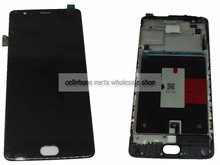 Amoled For Oneplus 3T / Three T A3010 A3003 Lcd Screen Display+Touch Glass Digitizer+Frame Assembly Replacement Parts