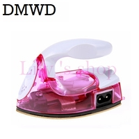 MINI Portable Foldable Electric Garment Iron Clothes Travelling Teflon Baseplate Handheld Dry Ironing 100 240V 110V