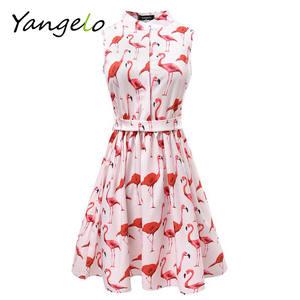 611604d797 lunoakvo Summer 2018 Women Prints Casual Cute Mini Dresses