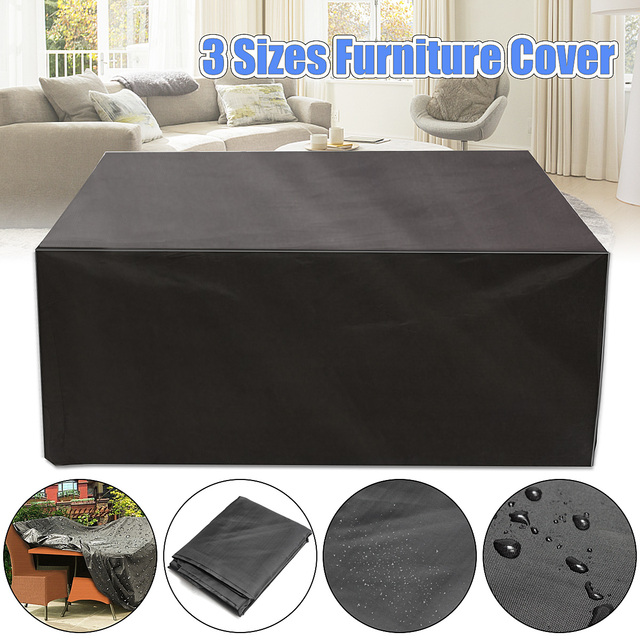 Able Best Price Outdoor Garden Furniture Rain Cover Waterproof Oxford Wicker Sofa Protection Set Patio Rain Snow Dustproof Covers Dust Covers