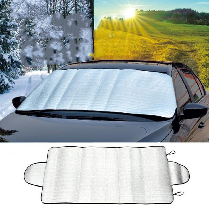 2017 150 70cm car windscreen visor cover window foils sun shade uv protect cover anti snow frost. Black Bedroom Furniture Sets. Home Design Ideas
