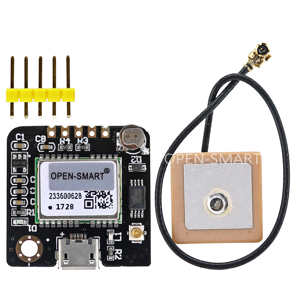GPS Serial GPS Module APM2.5 Flight Control GT-U7 Module With Ceramic Antenna For DIY Handheld Positioning System For Arduino