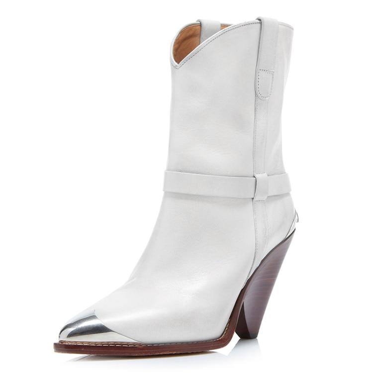 Mode Blanc En Véritable Chaussures Talon picture picture 4 Noir Jaune Bottines Toe Cap Slip Chunky Bottes Piste De Cuir Moto picture Femmes Picture Sur 1 3 2 ZtZdzx
