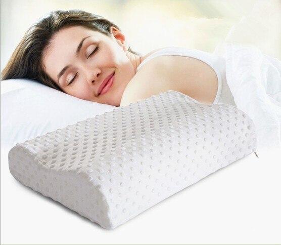 2016 Therapy Neck Pillow Fiber Slow Rebound Memory Foam