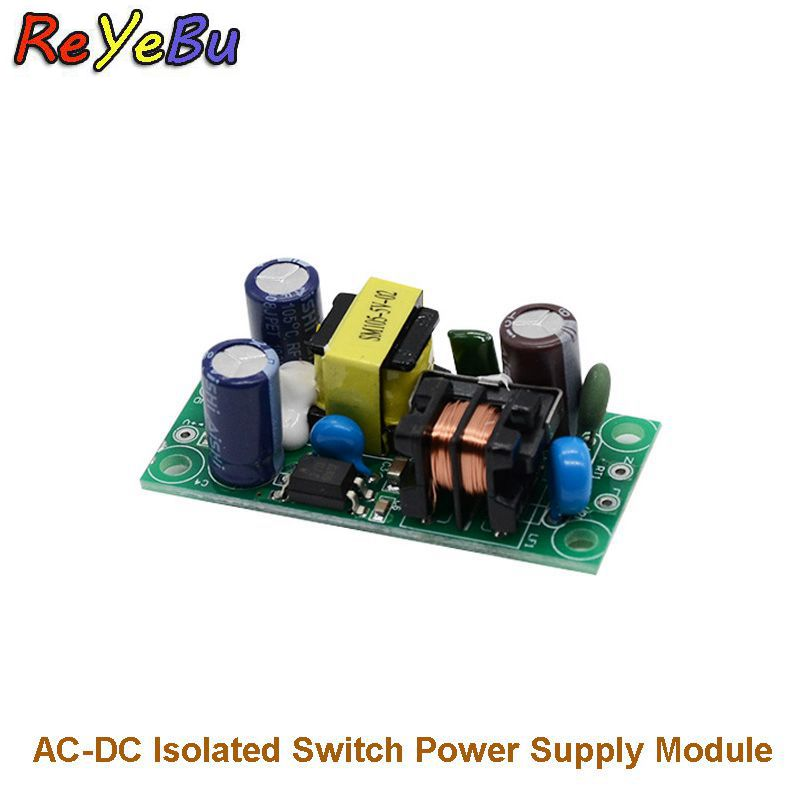 AC//DC Step-Down 240V//5V 0.6A Isolated Buck Power Converter Module Open Frame