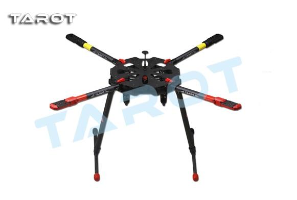 Tarot X4 TL4X001 quadcopter w/ Retractable Landing Gear FPV Multicopter Track Shipping f11270 tarot x8 8 aixs umbrella type folding multicopter uav octocopter drone tl8x000 with retractable landing gear