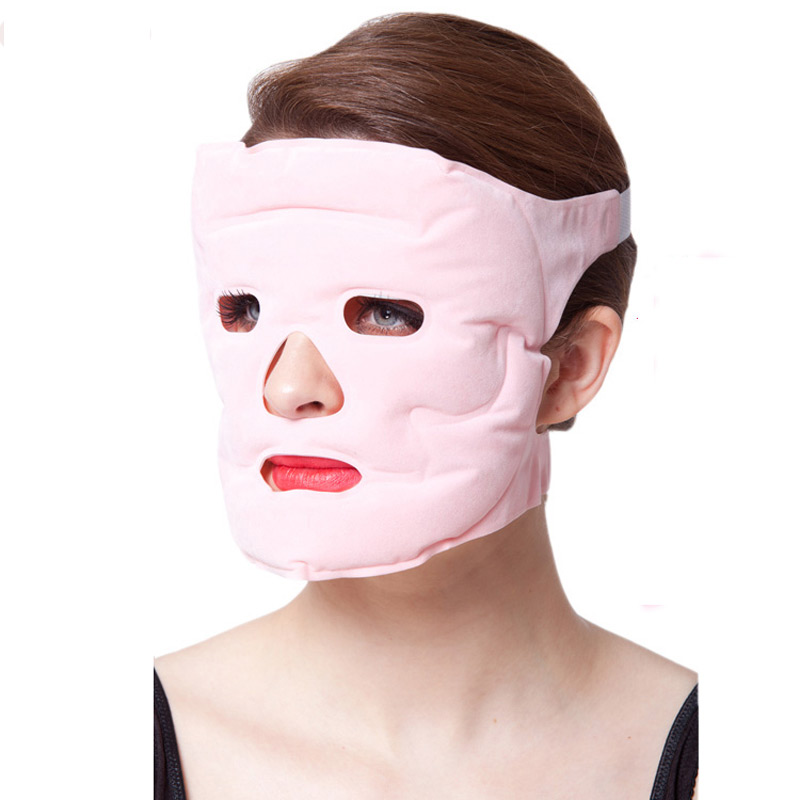 Facial mask face care makeup masks Slimming Gel magnet thin Magnetite Face remove pouch Health Magnetic Acupoint dropshipping