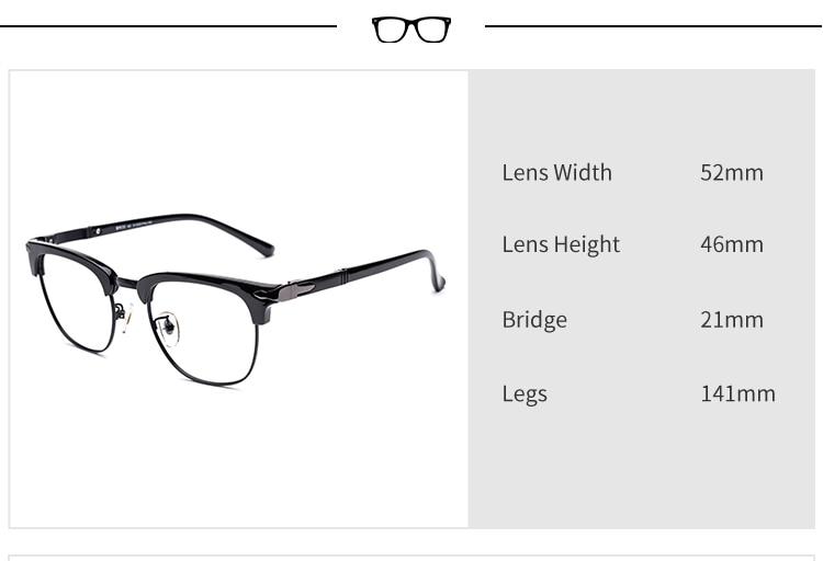 NºDonna Hombre Marco Gafas Anteojos Ópticos montura de gafas TR90 ...