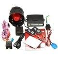 1 Maneira Universal Car Veículos Anti-roubo Sistema de Segurança de Proteção Alarme Keyless Entry Siren + 2 Controle Remoto Assaltante